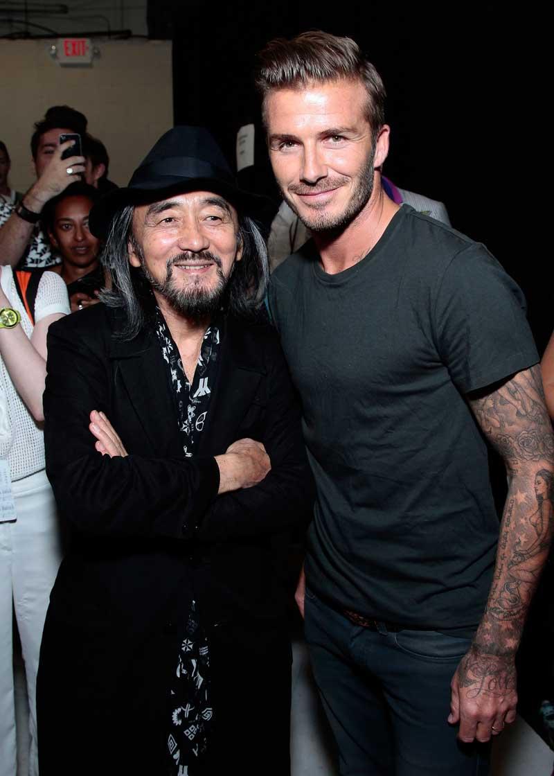 Yohji Yamamoto & David Beckham