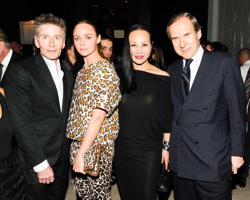 Calvin Klein, Stella McCartney, Eva Chow, Simon de Pury