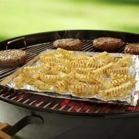 All-natural frozen fries on the grill bring farm fresh flavors to your table.