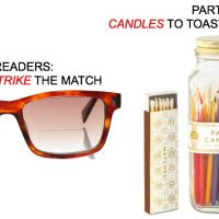 eyewear match candles