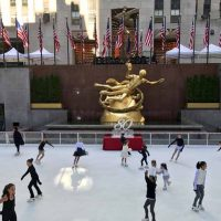The Rink at Rockefeller Center First Skate