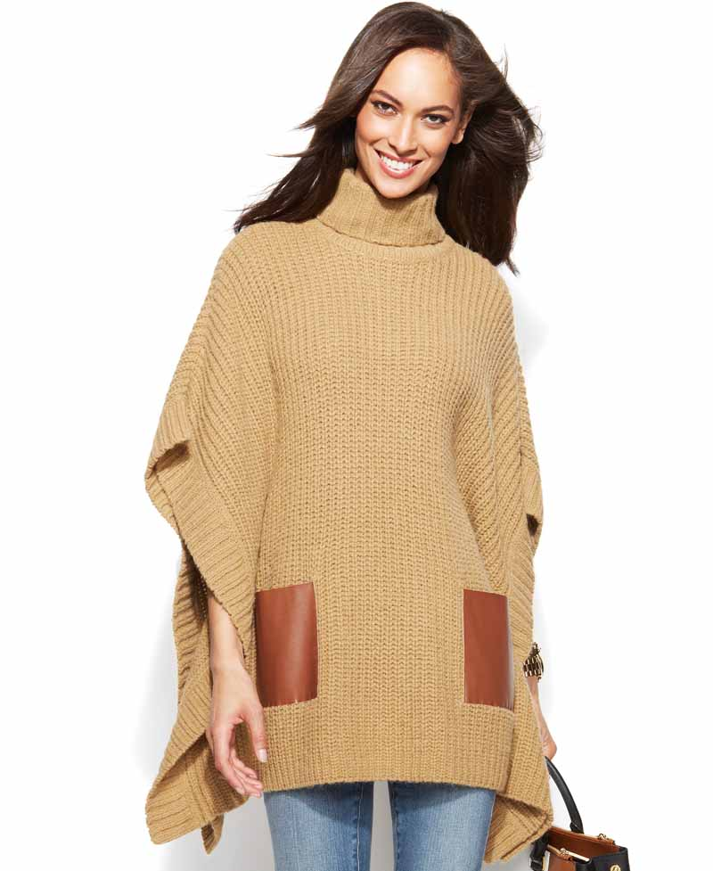 Poncho – and Cape Trend: Casual for the Transition